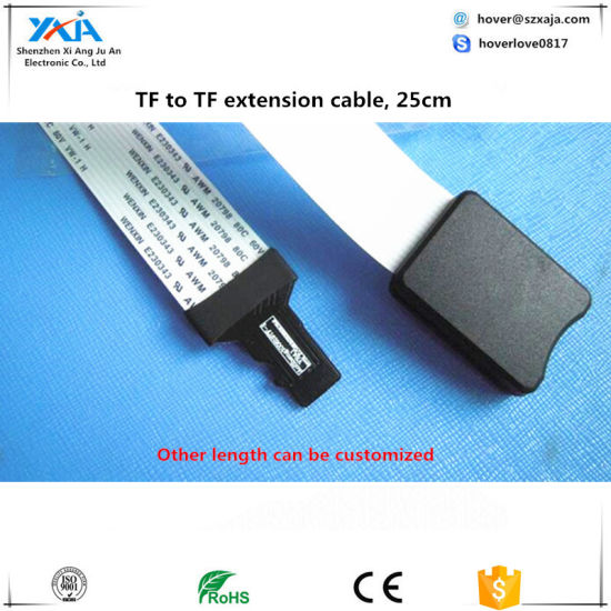 TF Micro SD To TF Card Extension Cable Adapter Flexible Extender 3D Printer Cars