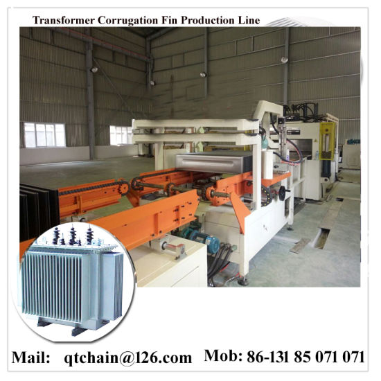 Silicon Steel Sheet Shear Machine/Automatic Transformer Radiator Fin  Welding Machine /Transformer Corrugation Forming Fin Seam Edges Welding  Tank
