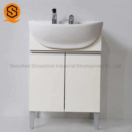 Modern Design Luxurious Man-Made Stone Bathroom Vanity Top for Hotel
