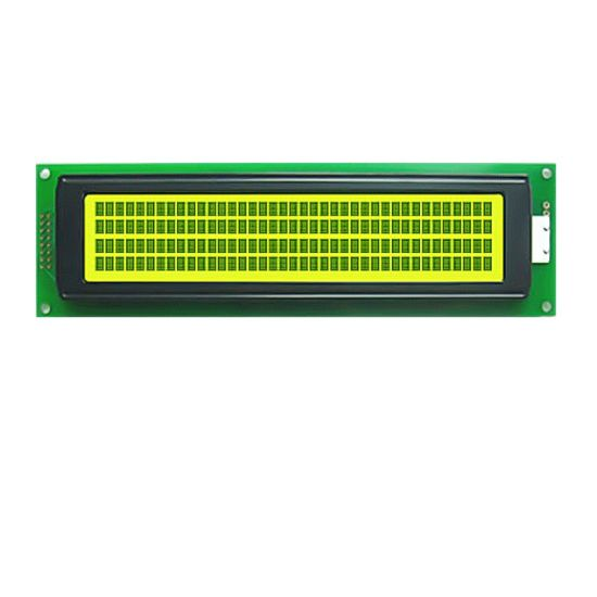 4X40 LCD Display 4004 Character LCD Display with Yellow Green Backlight