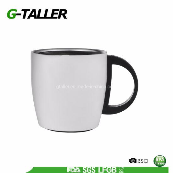Flip Lid Vacuum Insulated Stainless Steel Coffee Mug