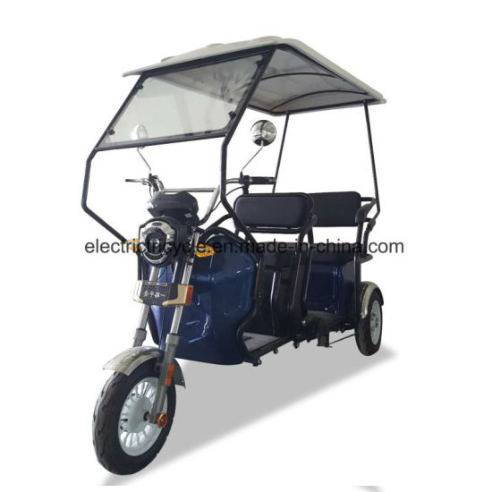 China Folding 3 Wheel Adult Smart Motorcycle Electric E