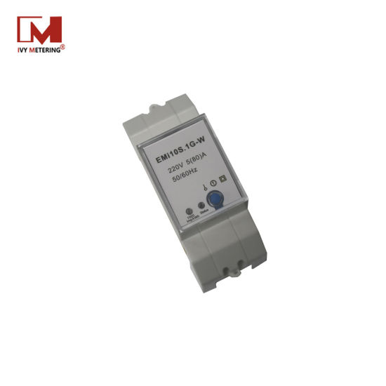 RS485 WiFi 80A 50Hz Iot Power Sensor with Battery Relay Button