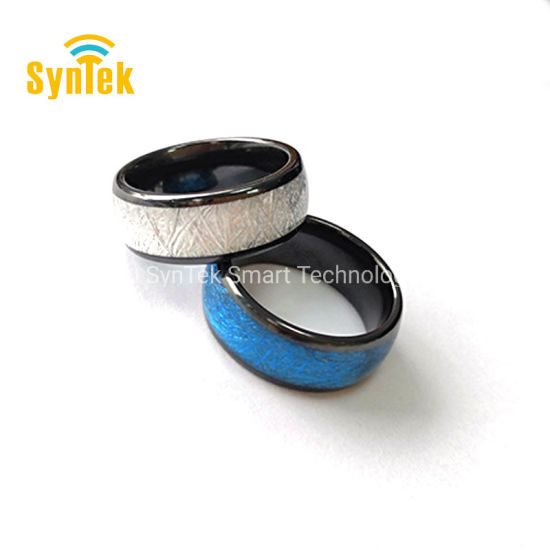Universal Titanium Waterproof APP Enabled Smart Ring NFC Smart Ring for  Android NFC Mobile Phones