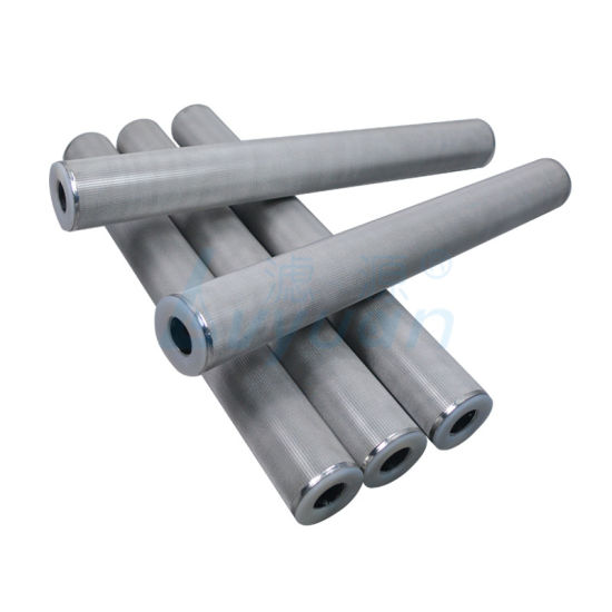Sintered SS316 Stainless Steel Filter 1 Micron /Metal Mesh Filter Water for Industrial Liquid Filtration