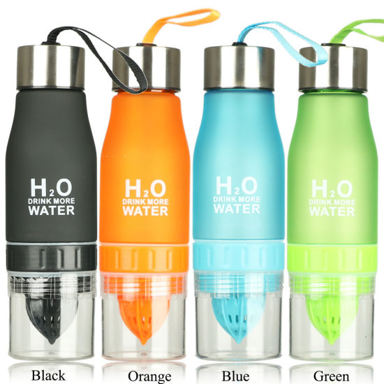 Outdoor Sport Travel Water Bottle Portable Leak-proof Cycling Camping Bottle Cup