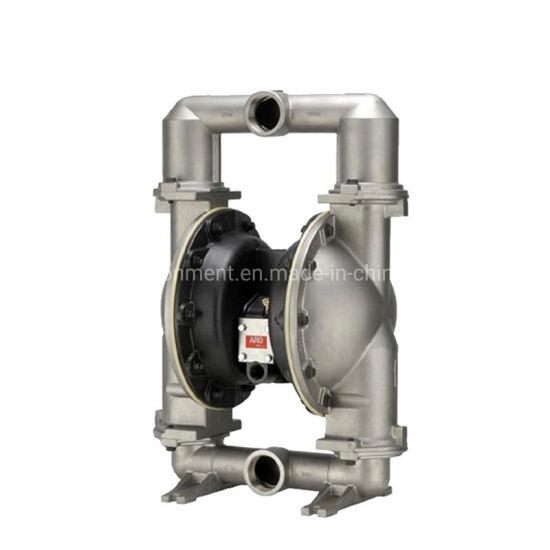 Aro Stainless Steel Self-Priming Pneumatic Double Diaphragm Pump