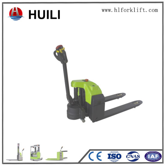 New Electric Pallet Truck Second Hand Apply to Factory Warehouse Food Industry pictures & photos