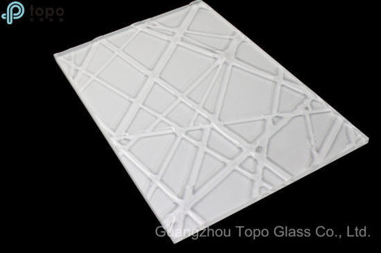 Decorative Stained Fused Art Glass Wholesale for Home Decor (MR-SJ-1004)