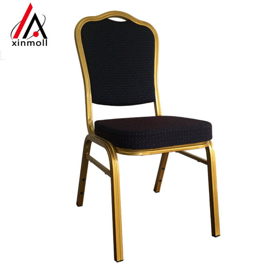 Stacking Steel Fabric Banquet Chair Dimens