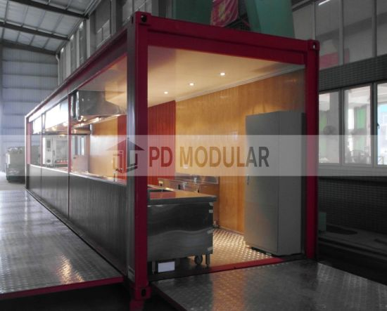 2019 Good Quality Customized Portable Modern Container House Restaurant