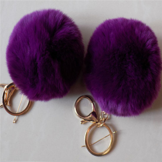Cute Rex Rabbit Accessory Real Rex Rabbit Fur Accessory pictures & photos