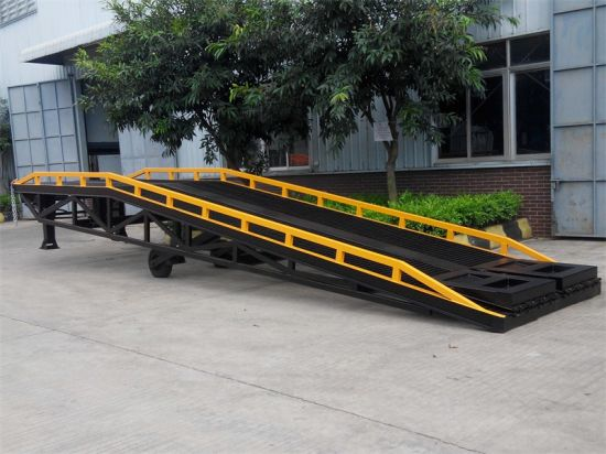 Mobile Loading Ramp-Hydraulic Control with Germany Design