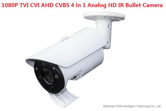 Fsan 2MP Tvi Cvi Ahd CVBS 4 in 1 Infrared Night Vision Bullet IP Camera