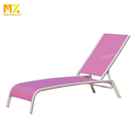 Beach Chair/Aluminium Chaise Garden Pool Sun Lounger Chair (accept customized)