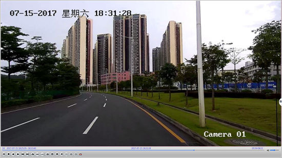 Police Car 300m Night Vision Laser HD CCTV Camera pictures & photos