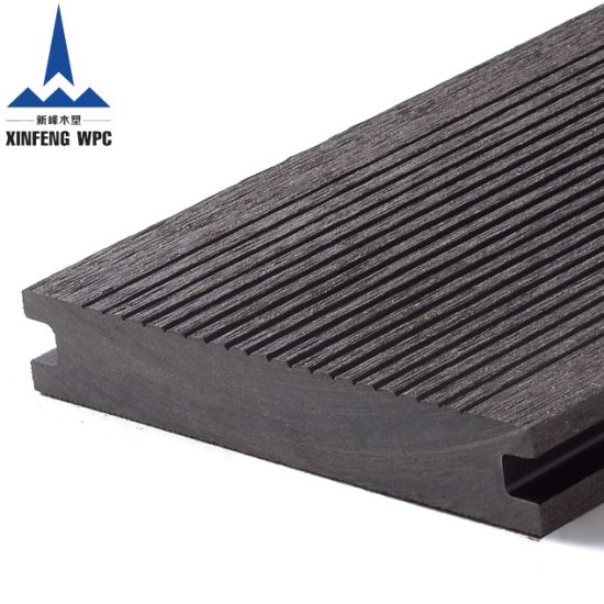 Low Maintenance Solid WPC Decking with EU Certificates
