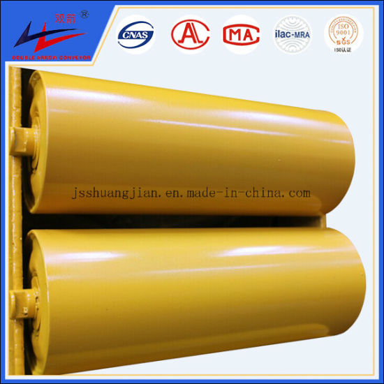 Guide Roller Self Aligning Roller or Through Conveyor Idler of Belt Conveyor pictures & photos