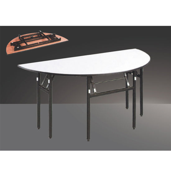 China Banquet Furniture Wholesale Fold Round Events Wedding Banquet Table China Cocktail Table Restaurant Table