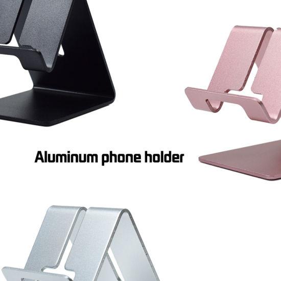 Aluminum Alloy Phone Stand Bracket Universal Non-Slip Desktop Tablet Stander Integrated Mobile Phone Holder