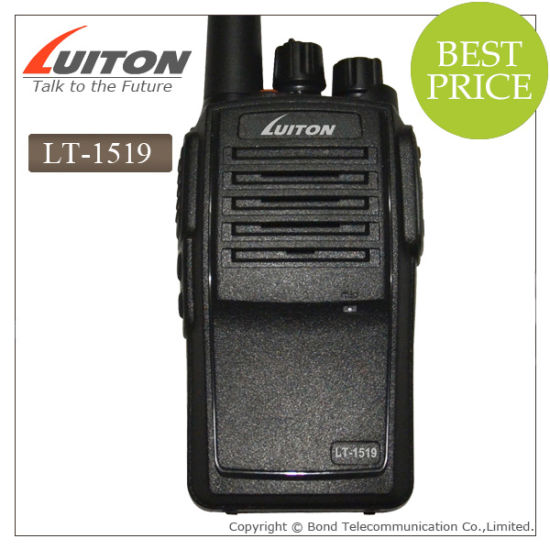 Professional Walkie Talkie Lt-1519 Two Way Radio with IP67 Approved pictures & photos