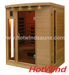 2019 Far Infrared Sauna Room Portable Sauna for 3 People (SEK-CP3)