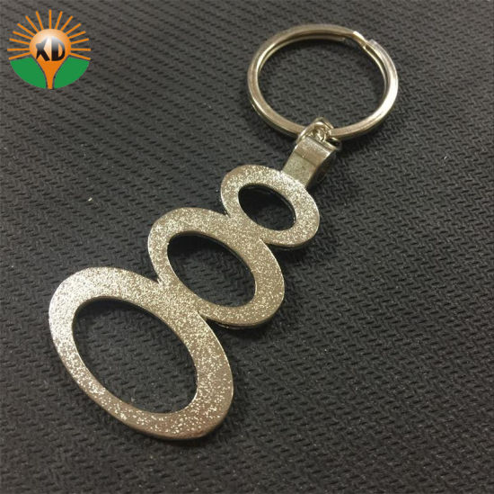 Number Shaped Metal Key Chain for Promotion (xd-031734)