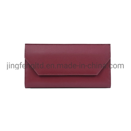 Fashion Long Purse for Women New Design PU Leather Purse