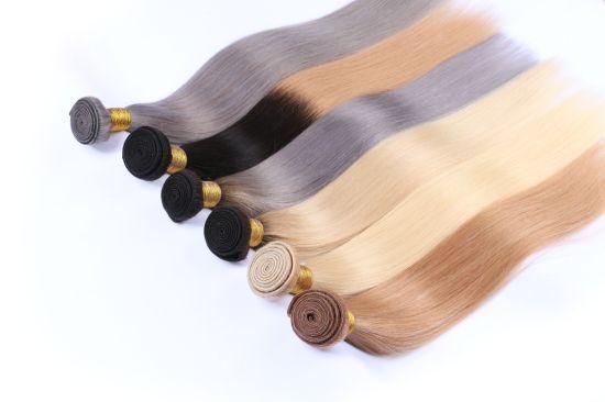 Low Price Blond Straight Human Hair Bundle Hair Weaving