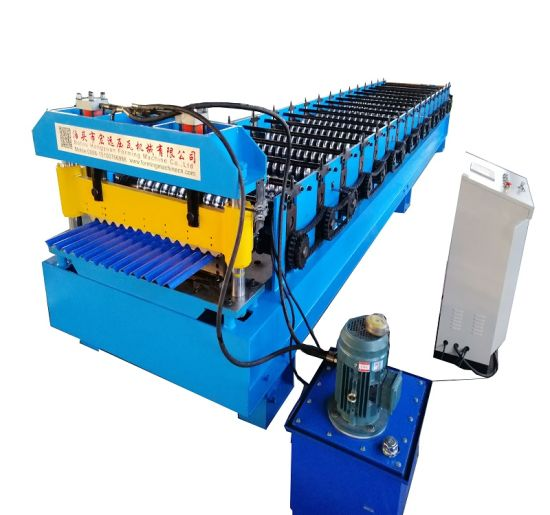 Corrugated Roof Sheet Panel Roll Forming Making Machine
