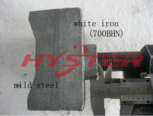 Domite Shredder Hammer Tips 63HRC pictures & photos