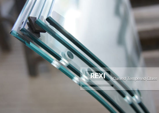 Factory Bent Toughened Laminating Clear Tempered Hot Curved PVB SGP Laminated Glass Price Manufacturer 6mm 8mm 10mm 12mm 15mm 19mm