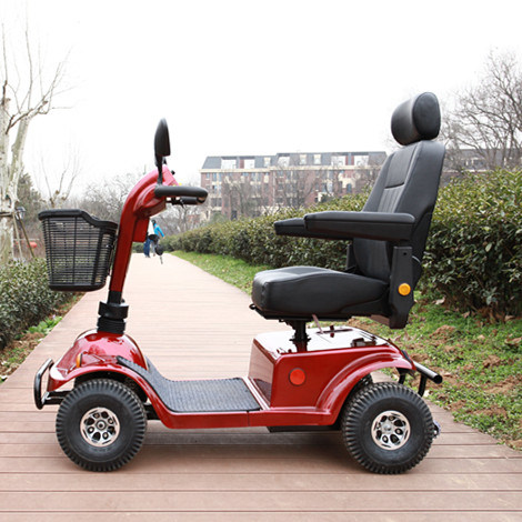 800W/55ah Luxury Four Wheels Electric Mobility Scooter with LED Lights pictures & photos