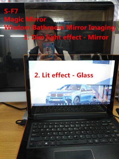 Three-Dimensional Smart Art Glass for Wisdom Mirror (S-F7) pictures & photos
