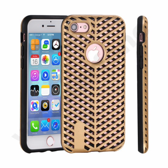 Two in One Design Cell Phones Cases for iPhone 7 Plus