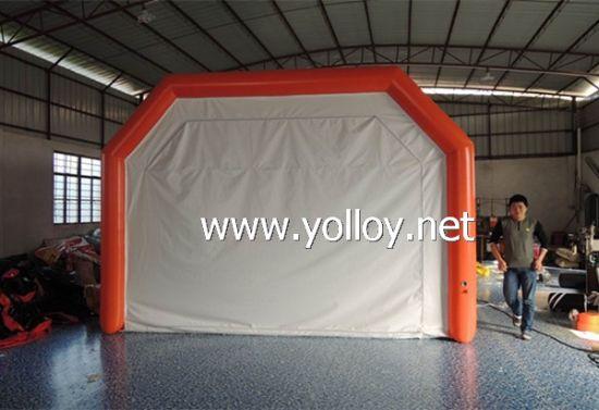 Inflatable Car Sandblasting Tent & China Inflatable Car Sandblasting Tent - China Inflatable Car ...