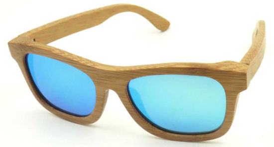 Fw17129 Wholesale Quality Bamboo Wooden Sunglass Polarized Lens