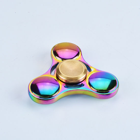 2017 Best Gift Fidget Spinne Rtri-Spinner Metal Hand Spinner pictures & photos