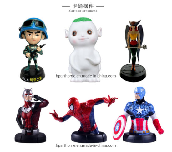 Professional OEM and ODM Custom Bespoke Resin Figurines Statuettes Factory