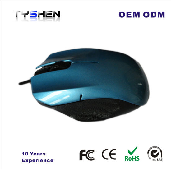 Wired Mouse Optical USB Computer Mouse for Office Family pictures & photos