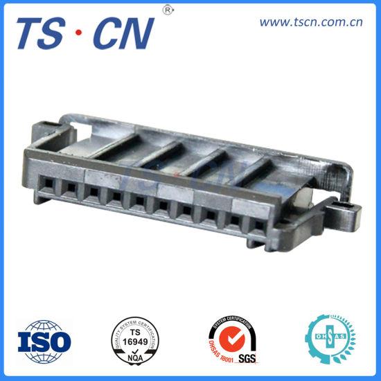 Benz Plastic Female Automotive Audio Video Terminal Pin Parts Connector
