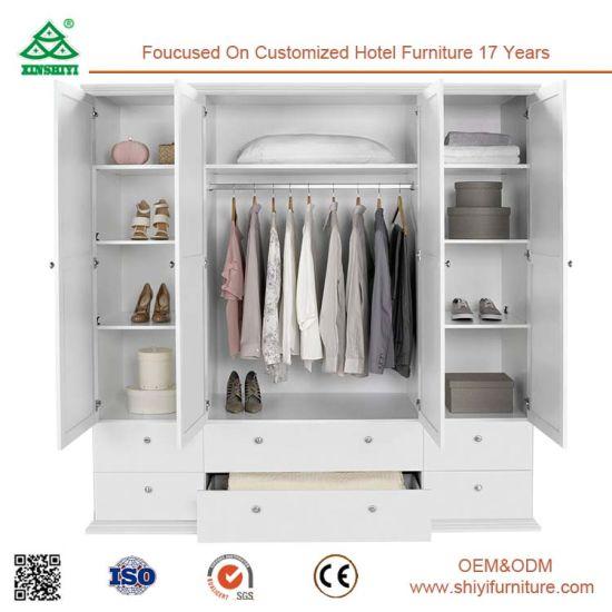 China 4 Door Perfect for Hanging Fair Price Furniture Wardrobe ...