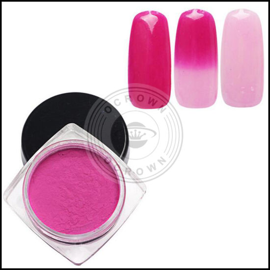 Thermochromic Pigment Thermal Color Change Powder for Nail Gel Polish