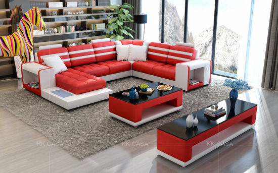 China Nordic Luxury Gray Fabric Sectional Sofas Living Room Furniture Light Grey L Shape Fabric Sectional Sofa Set China Sofa Furniture