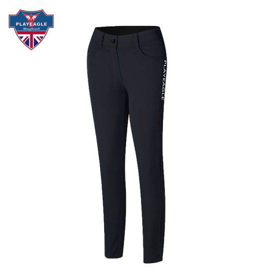 Wholesale OEM Golf Lady Pants Printing/Embroidery Logo Golf Trousers for Women