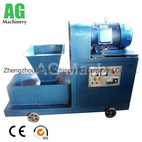 Hot Selling Charcoal Briquette Extruder Machine Made in China
