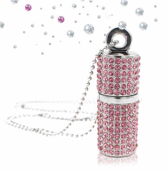Supply Metal Crystal Heart Jewelry USB Flash Drive Memory Stick & USB Storage Stick Pendrive Memory Disk Memory Drive