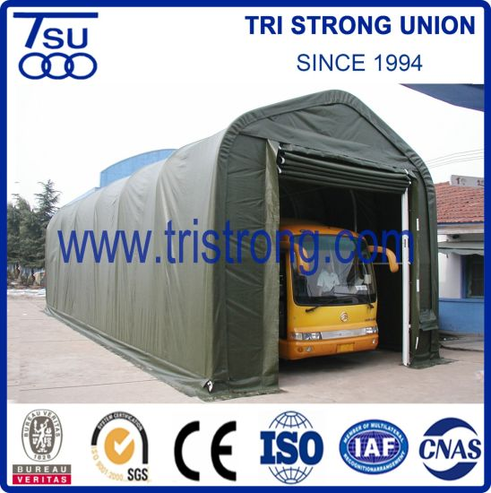 5.5m Span Outdoor Storage Warehouse Middle-Size Portable Garage (TSU-1850/TSU-1865)