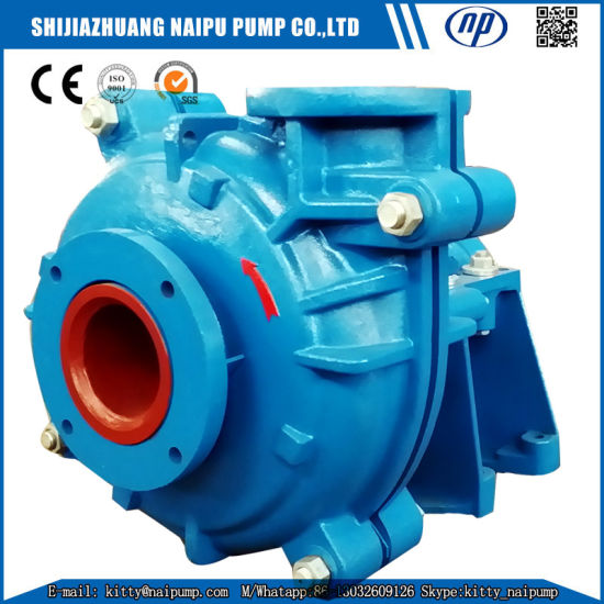 Ah Slurry Pumping Equipment for Gold Processing Plant pictures & photos