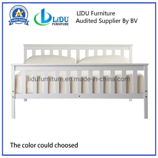 Wooden Bed Designs Solid Wood Bed Room Furniture Custom King and Queen Bed Frame Wooden Bed Bunk Bed Children's Bed Safe Bed Kids Bed